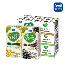[매일두유] 뼈칼두유 담백 72팩+검은콩 24팩 / 총 96팩