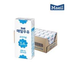 [매일우유] SLIM_매일멸균 오리지널 200mlX24팩