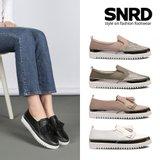 [SNRD]여성 슬립온 스니커즈 캐주얼화 SN172,SN173 2종택1
