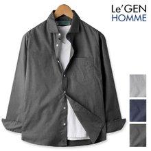 르젠 스프레드카라 포켓 슬림핏 셔츠(LNSH1280ME)