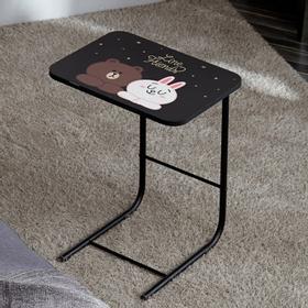 라인프렌즈 사이드 테이블 /노트북 독서대 쇼파테이블