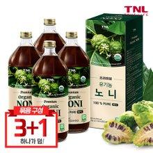 TNL 티앤엘 프리미엄 유기농 100% 노니(병) 1000ml 3+1