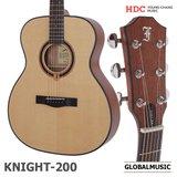 영창 피닉스 통기타 KNIGHT 200 OM바디 탑솔리드 어쿠스틱 기타