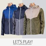 [마운틴가이드]봄여름 등산복/단체복/등산점퍼/남성 경량 등산 바람막이 자켓 WKM-J8147