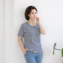 마담4060 엄마옷 젊음의행진티셔츠 QTE906021