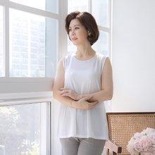 마담4060 엄마옷 심플리여름민소매 QSL906012