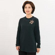 마담4060 엄마옷 모던하게주름티셔츠 ZTE910082