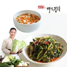 [식품명인 유정임의 명인김치] 열무김치 3kg + 나박김치 2kg