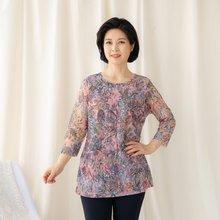 마담4060 엄마옷 은은한플라워티셔츠-ZTE003063-