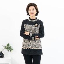 마담4060 엄마옷 나만입고싶은꽃티셔츠-ZTE912091-