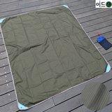 MKL 캐논 옥스포드원단 등산/캠핑용 방수시트(137X150cm)