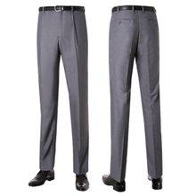 [파파브로]남성 여름 프리미엄 양복 수트 정장바지 LO-C95-그레이