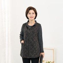 마담4060 엄마옷 원플러스원조끼세트 ZSET910001