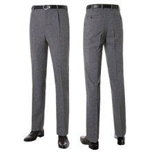 [파파브로]남성 여름 프리미엄 양복 수트 정장바지 LO-C302-차콜