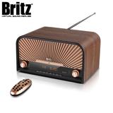 [브리츠] 앤틱 올인원 오디오 BZ-T8900 (블루투스 재생 / USB플레이 / 시계 및 알람)