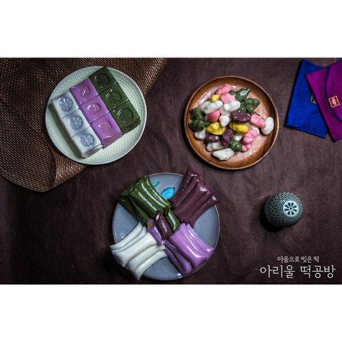 [아리울떡공방] 앙금절편+앙금가래떡+모듬깨송편 세트