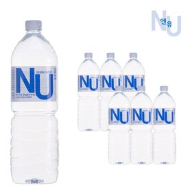 물은엔유 미네랄 생수 먹는샘물 2L x6개