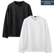 [해리슨] 리버풀 V 포인트 긴팔 티셔츠 CRS1315