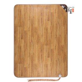 [일월] 나노륨 카페트 온수매트-대형/원목무늬(투난방1830*2400)