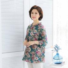 마담4060 엄마옷 장미빛진주블라우스 QBL906024