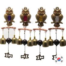 신주 나무가지 부엉이 맑은2종 도어벨/문종 H-201
