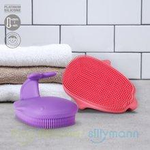 [실리만] 실리콘 목욕솔 WSB205