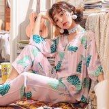 모스트2077A 아레안 여성 잠옷 홈웨어 세트 (2color)
