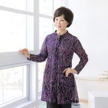 마담4060 엄마옷 매력있어롱셔츠 QBL904080