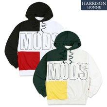 [해리슨] 모드 배색 후드 MJB1297
