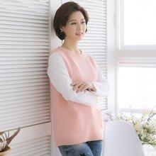 마담4060 엄마옷 내일은희망조끼 QVE902004