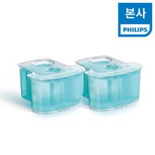 [필립스] PHILIPS 면도기 세척액 스마트클린 전용 세척카트리지 JC302/51