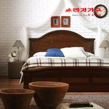 [라자가구]브라운 로맨스GM102 침대프레임 퀸Q