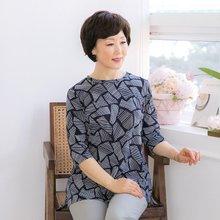 마담4060 엄마옷 도도한그녀티셔츠 QTE904032