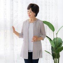 마담4060 엄마옷 라운드보석자켓-ZJK004024-