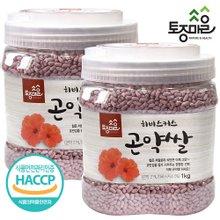 [토종마을]HACCP인증 히비스커스 곤약쌀 1kg X2개(총 2kg)