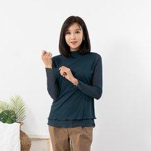 마담4060 엄마옷 매일매일이중티셔츠 QTE908017