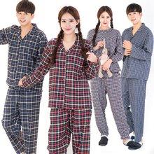 이라인 선염체크 국산잠옷 상하세트