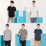 [리베레츠] 남성 베이직 반팔 티셔츠 5종세트