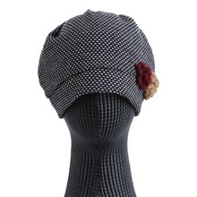 [파파브로]엠보 두건 비니 가을 간절기 보넷모자 TRW-WH0157-네이비
