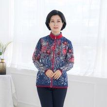 마담4060 엄마옷 플라워시스루앙상블-ZEN004001-