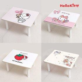 헬로키티 세이프티 하이그로시 테이블(400*400) 5종택1/밥상/다용도테이블/공부상