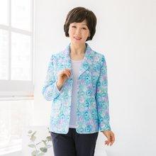 마담4060 엄마옷 화사한플라워자켓 QJK904015