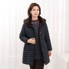 마담4060 엄마옷 라인카라털점퍼-ZJP911055-