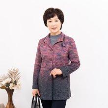마담4060 엄마옷 그라데이션자켓 ZJK910009