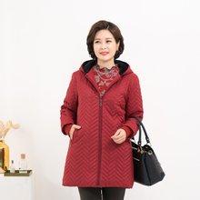 마담4060 엄마옷 지그재그에코퍼점퍼-ZJP911053-