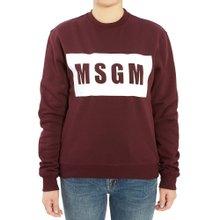 [엠에스지엠] 로고 2741MDM96 195799 20 여자 긴팔 기모 맨투맨 티셔츠