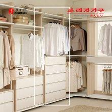 [라자가구]룸메이트 오픈드레스 800 5단서랍형옷장