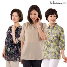 마담4060 블라우스/티셔츠/자켓/조끼/팬츠 여름 엄마옷