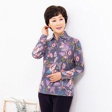 마담4060 엄마옷 반짝이는꽃셔츠 ZBL910028