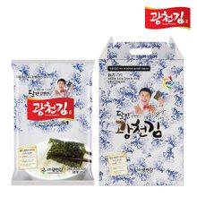 [광천김] 달인 김병만의 9호 선물세트(파래전장 20g x 10봉)